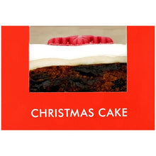 Load image into Gallery viewer, Mini Christmas Cake 155g