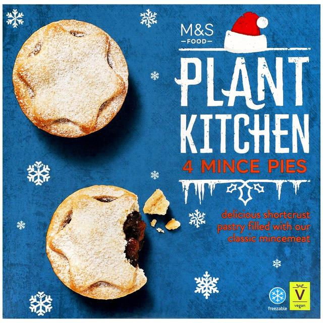Plant Kitchen 4 Mince Pies 240g