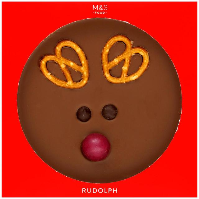 Jumbo Reindeer Milk Chocolate Button 85g