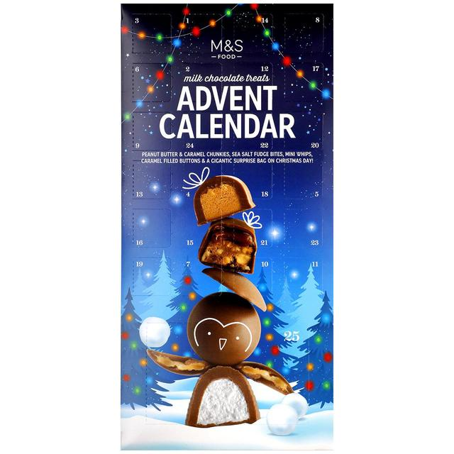 Advent Calendar with Milk Chocolate Treats 380g