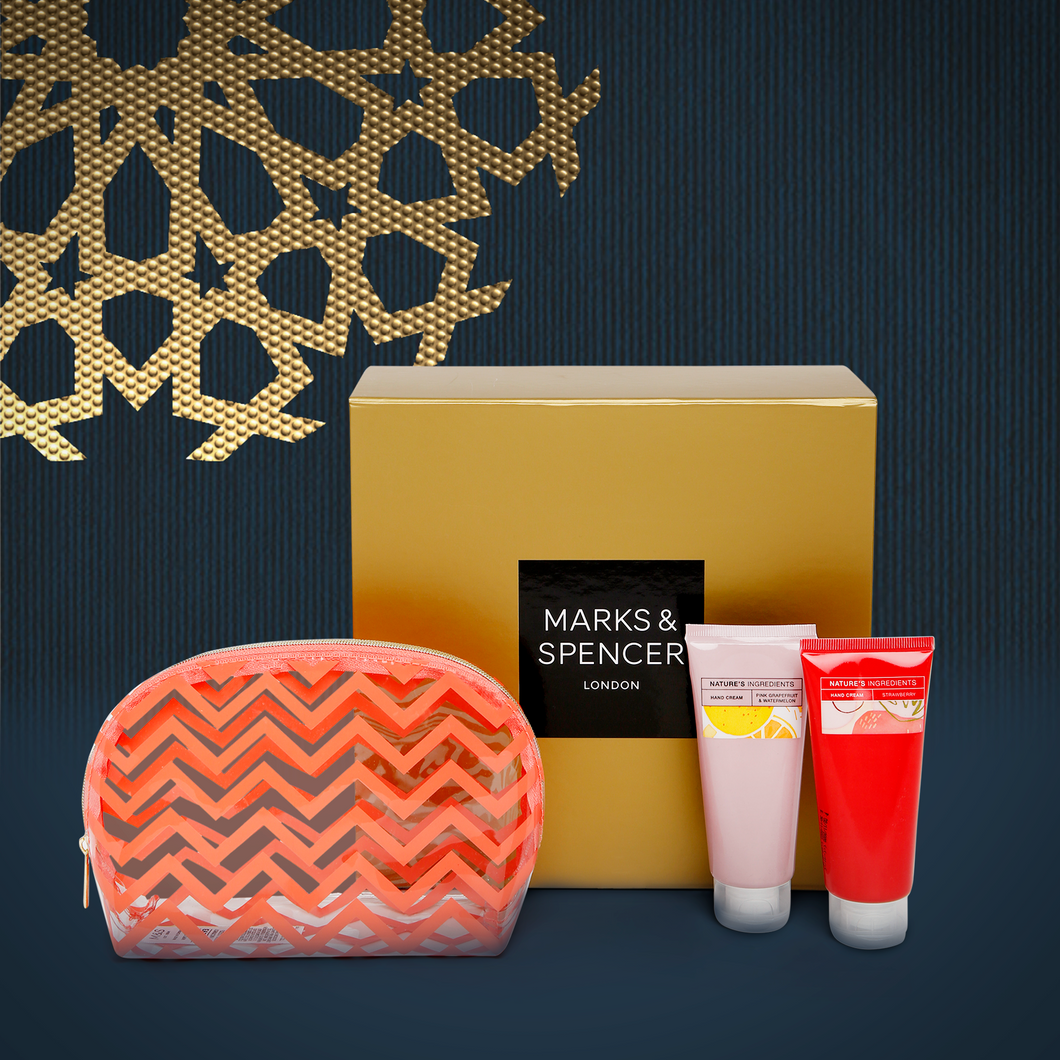 Make up bag & Hand Cream Duo
