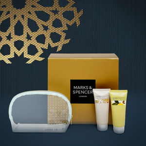 Cosmetic Bag and Hand Cream Set