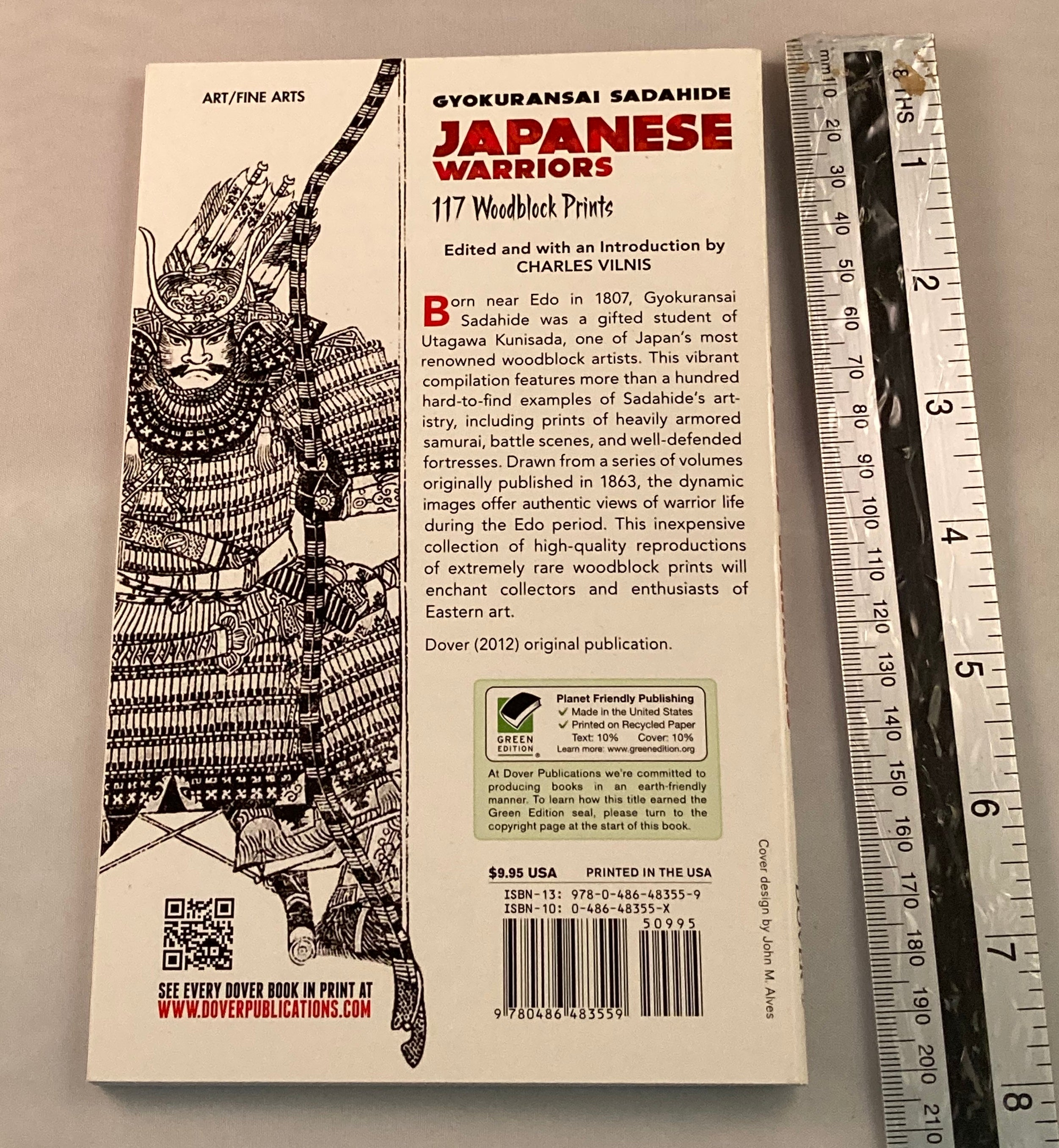 Japanese Warriors , 117 woodblock prints. Yokuransai Sadahide - Yamazakura