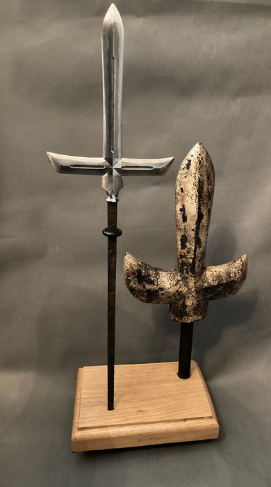 Jumonji yari Antique Samurai spear. - Yamazakura