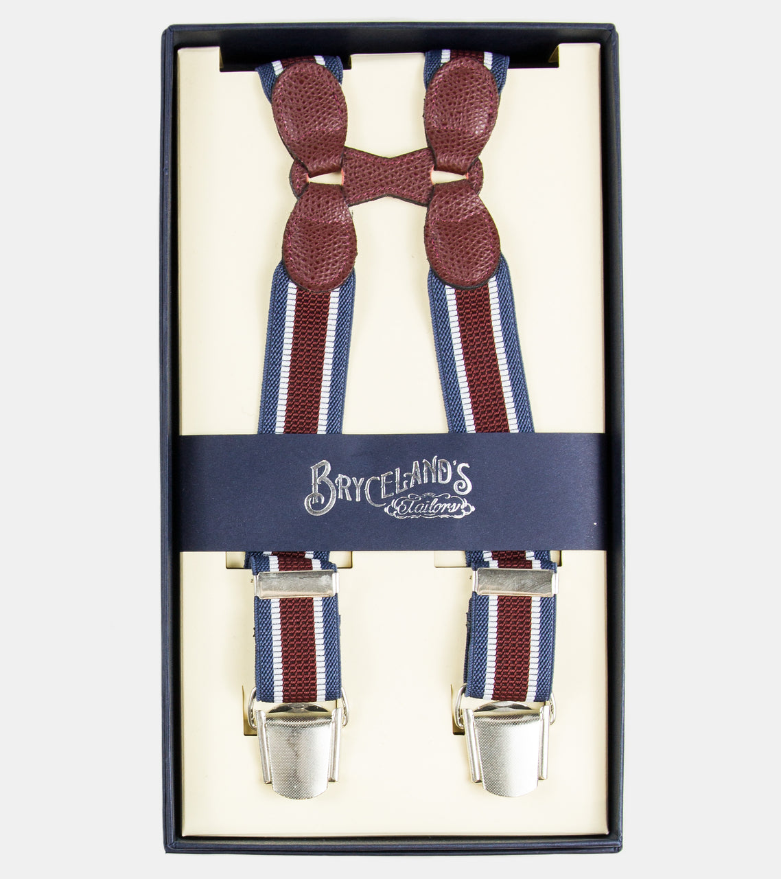 Bryceland's Suspenders Striped  112