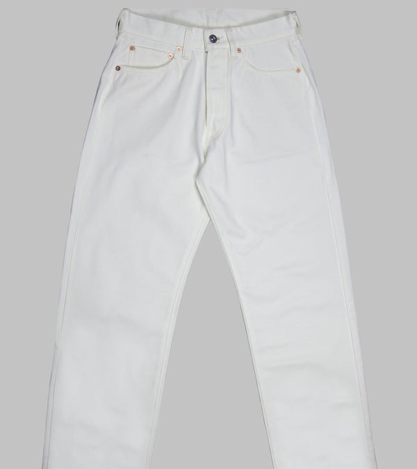 Bryceland's 433 Pique Jeans White