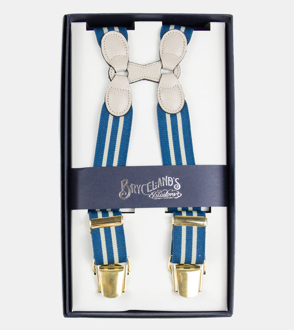 Bryceland's Suspenders Striped 652