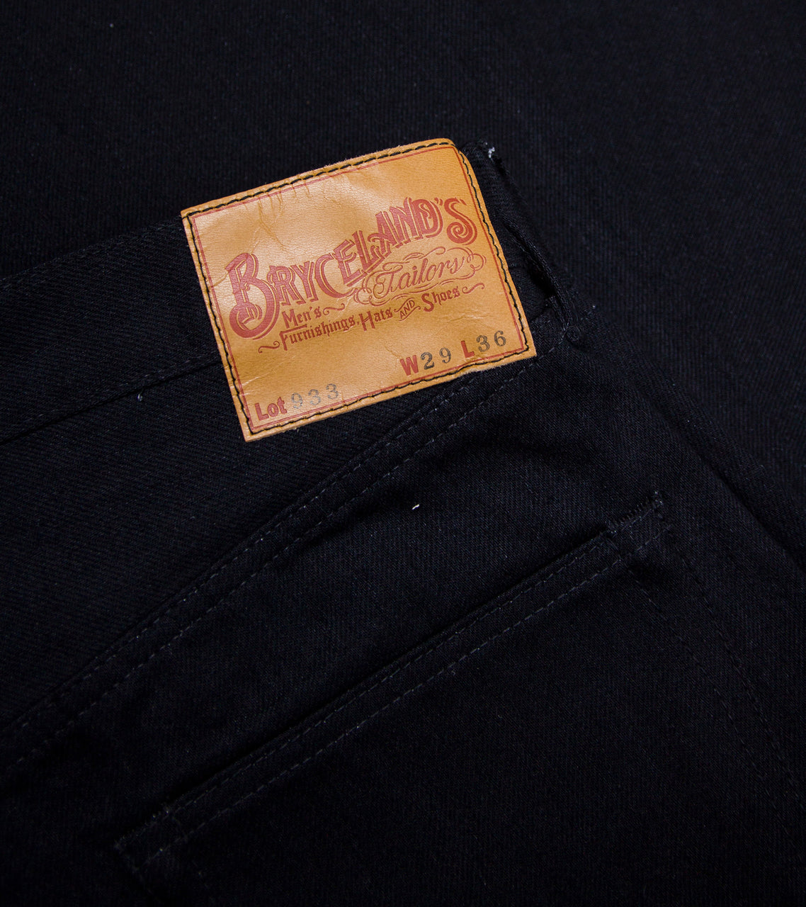 Bryceland's Denim 933 Black