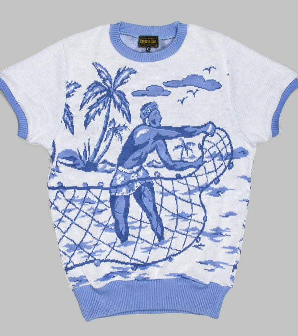 Groovin High Summer Knit Beach Boy Blue