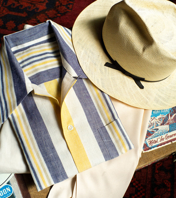 Bryceland's Cabana Shirt Striped