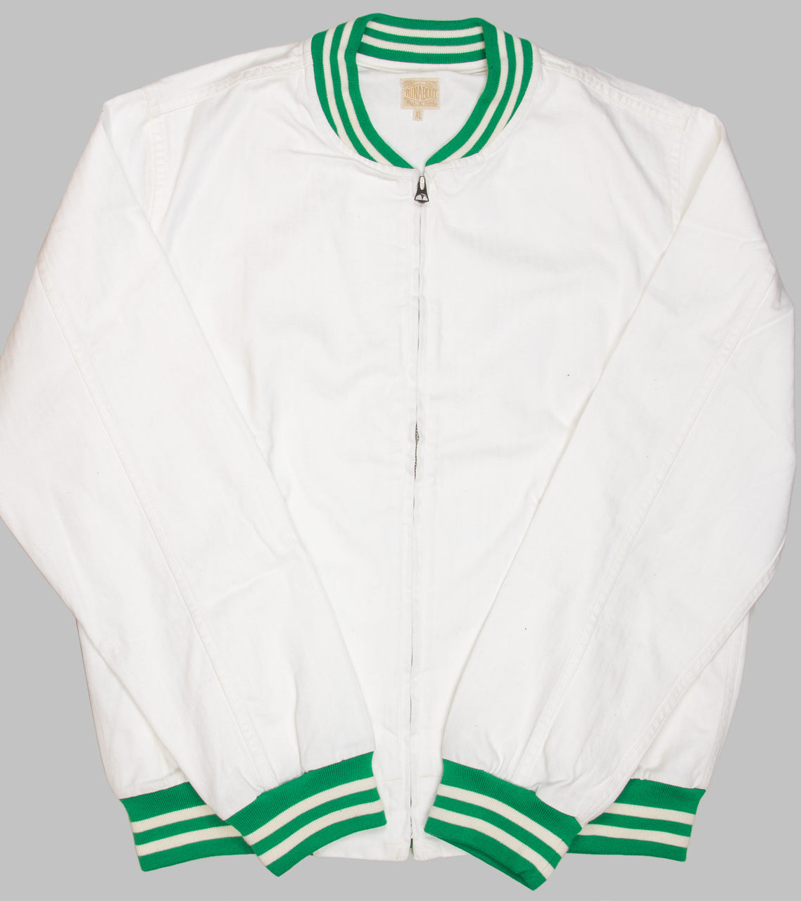 Runabout Stadium Jacket White