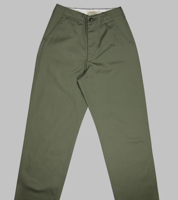 Bryceland's Army Chinos Olive