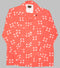 Groovin High Open Collar Shirt Salmon
