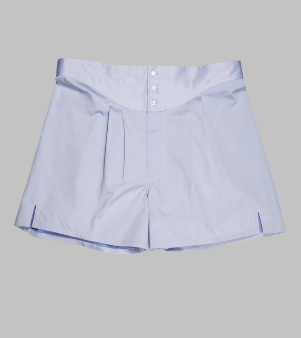 Bryceland's Twill Boxers Light Blue