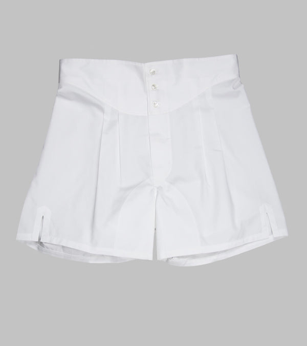Bryceland's Twill Boxers White