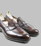 Corno Blu Penny Loafers Brown
