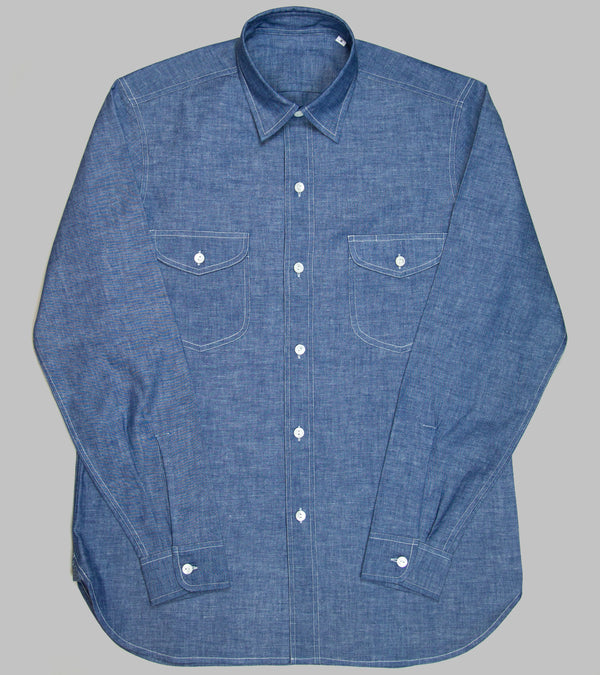 Bryceland's Made-to-Order Teardrop Chambray Shirt