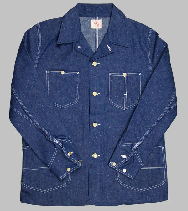 Bryceland's Chore Coat Jelt Denim