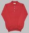 Bryceland's Cotton Long Sleeve Polo Red