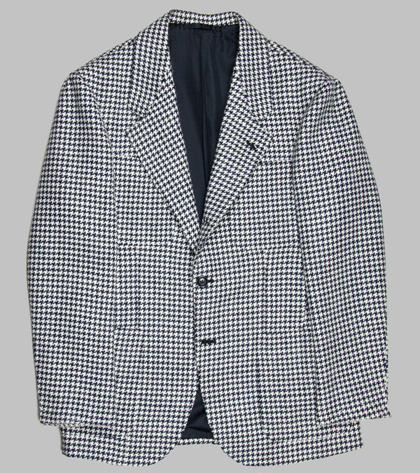 Dalcuore Single Breasted Jacket Houndstooth