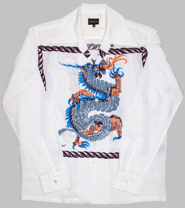 Groovin High Open Collar Shirt Dragon