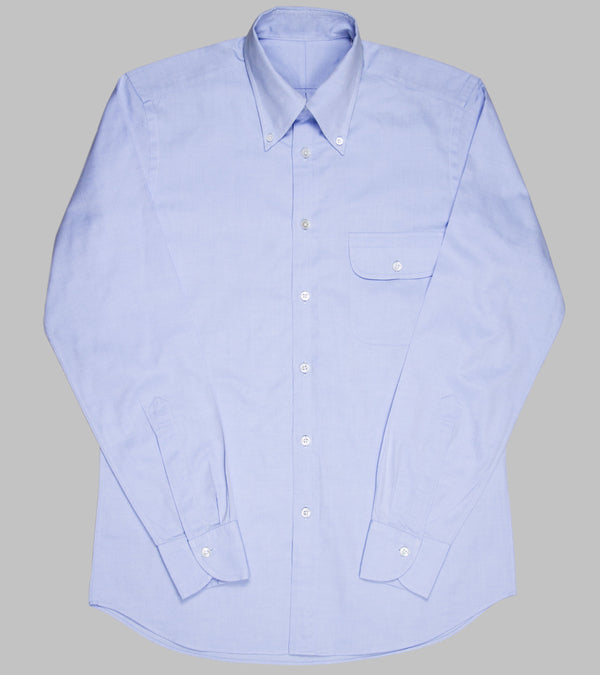 Bryceland's Oxford Button Down Shirt Light Blue