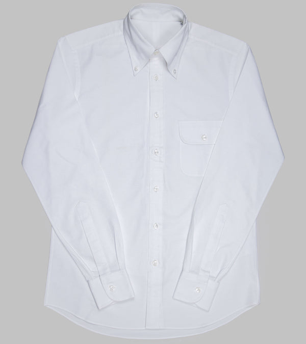 Bryceland's Oxford Button Down Shirt White