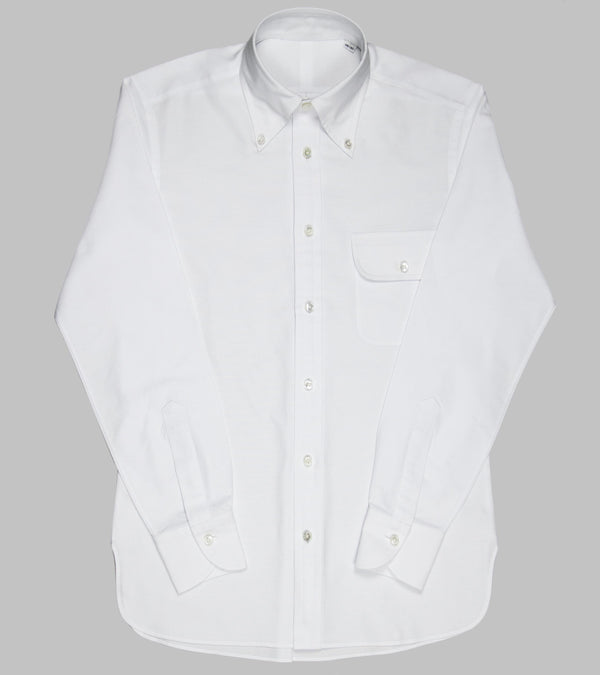 Bryceland's Made-to-Order Perfect OCBD Shirt White