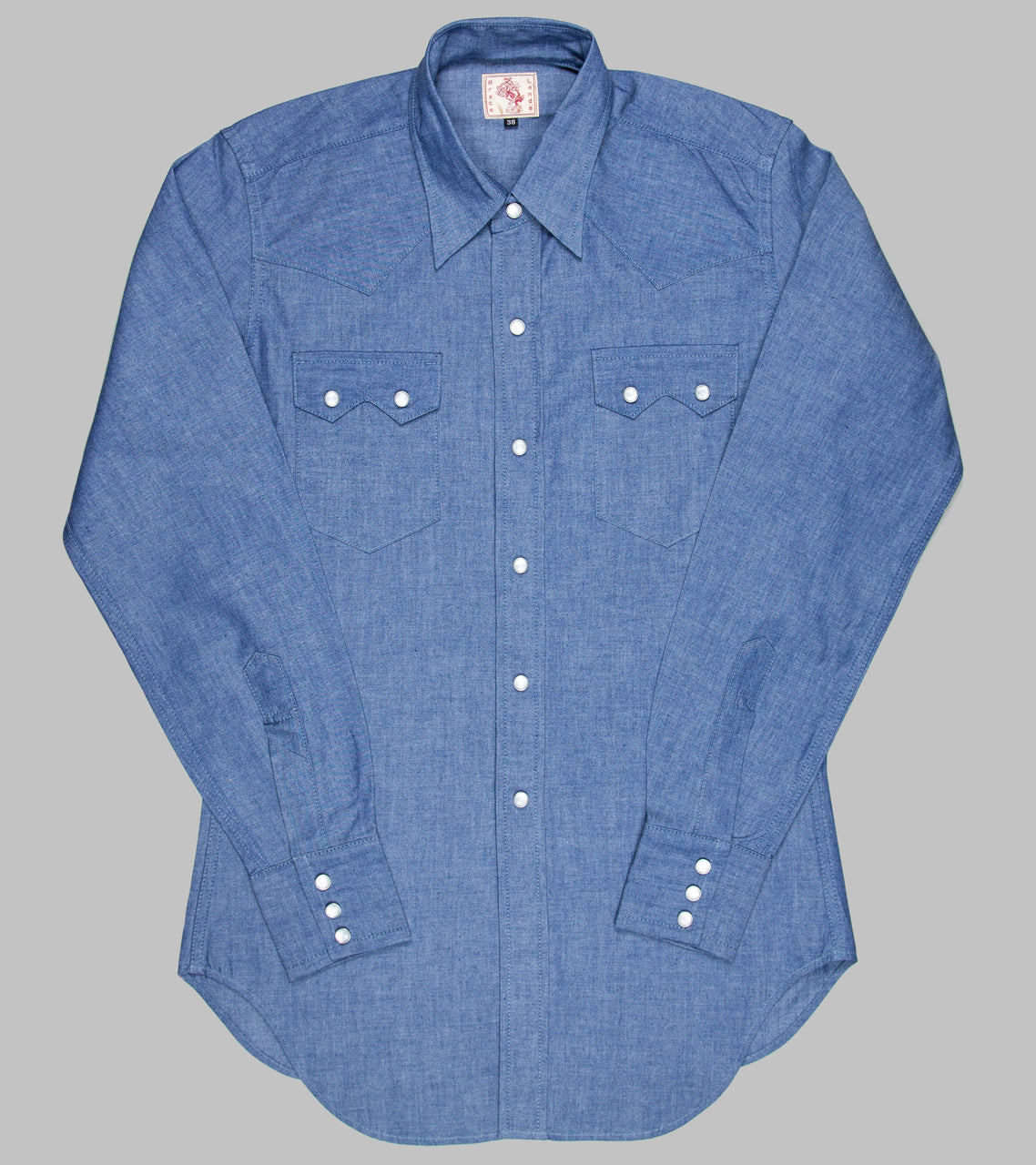 Bryceland's Sawtooth Westerner Chambray