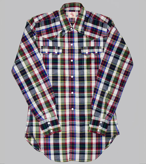 Bryceland's Sawtooth Westerner Red Checks