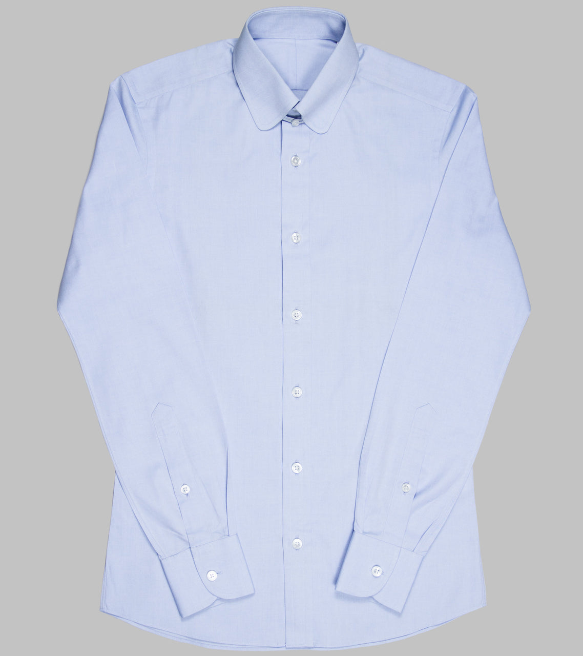 Bryceland's Club Tab Collar Shirt Light Blue