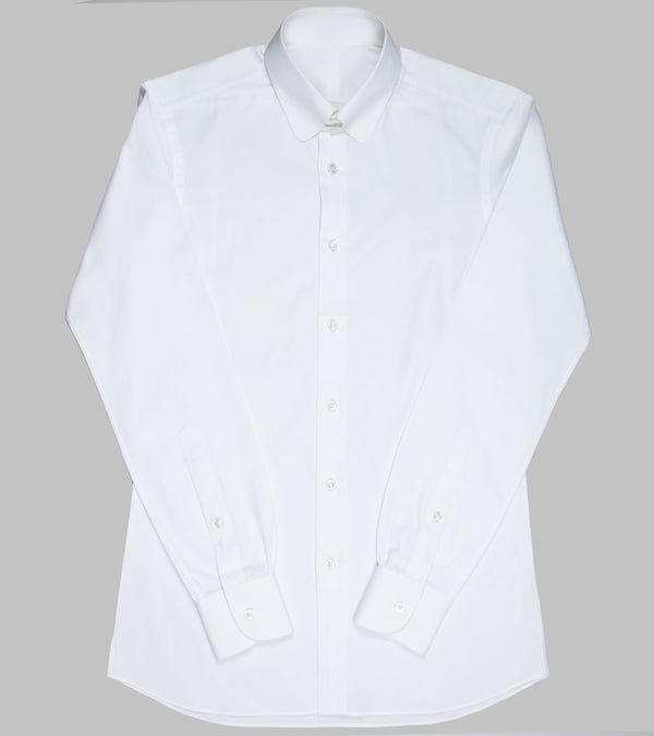Bryceland's Club Tab Collar Shirt White