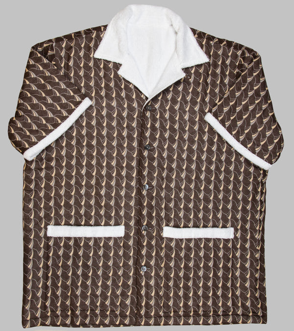 Bryceland's Towel Shirt Brown