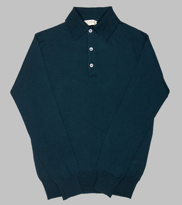 Bryceland's Merino Long-Sleeve Polo Bottle