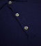 Bryceland's Merino Long-Sleeve Polo Navy