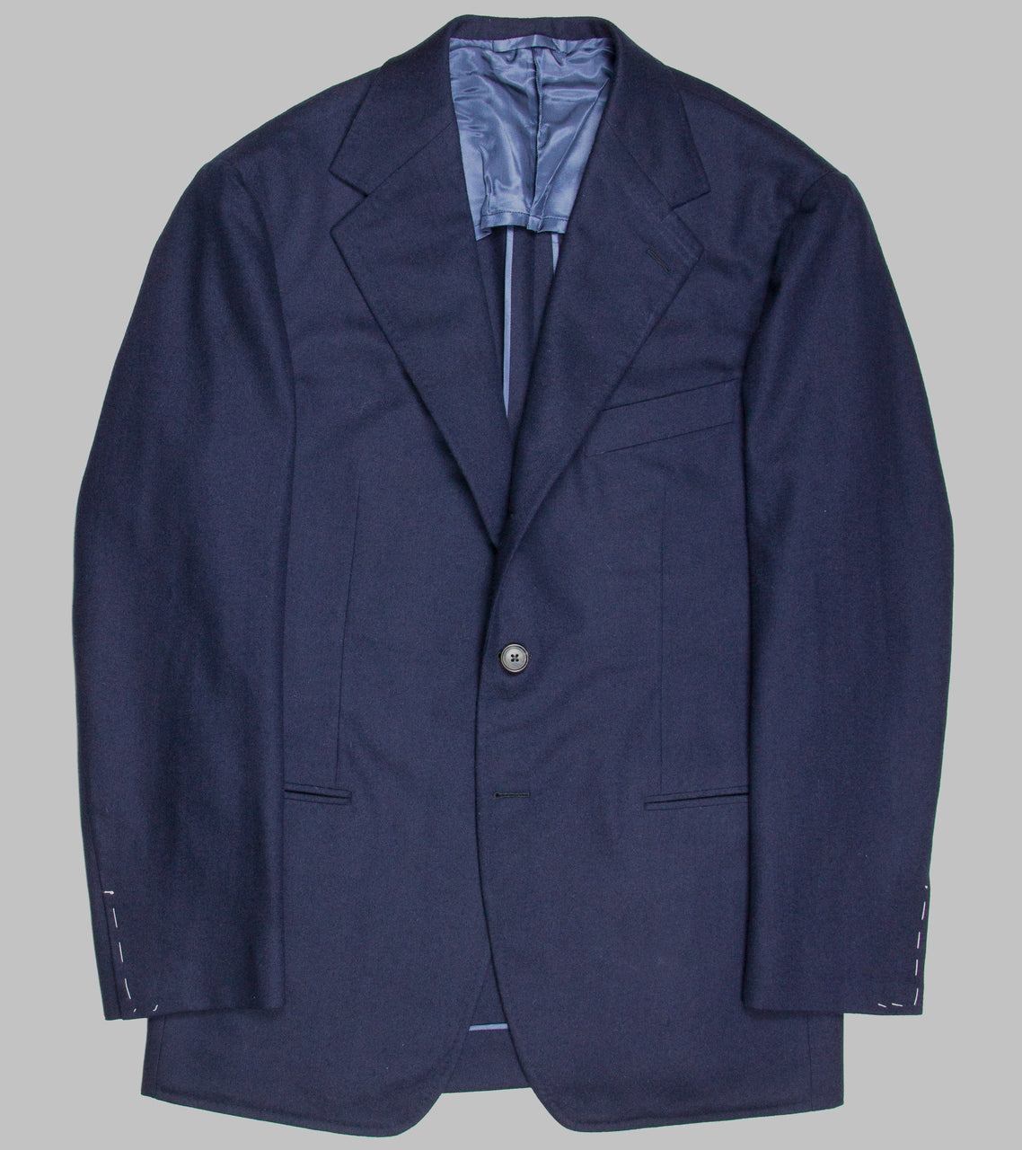 Bryceland's Single Breasted Navy Jacket
