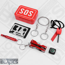 Load image into Gallery viewer, 6-in-1 SOS Kit Emergency Kit