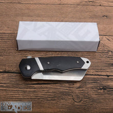 Load image into Gallery viewer, F7270 8Cr13MoV Blade Steel Wood Handle Pocket Knife