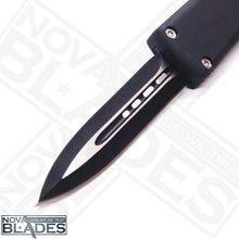 Load image into Gallery viewer, Model ML4 Automatic (Non-Serrated) Double Blade Automatic Knife with Nylon Sheath