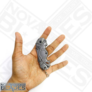 X72 Tactical Gear Mini Knife EDC punisher design