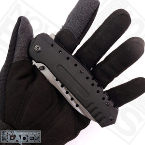 BR F66 Quick opening High Quality Stainless Steel Folding Knife