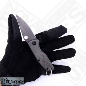 BR F119 Quick Opening Tactical Utility Folding Knife with Belt Cutter and Emergency glass Breaker