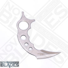 Load image into Gallery viewer, HC2 Claw Stainless Steel Karambit Knife (Skeleton) with Leather Boot Clip Sheath
