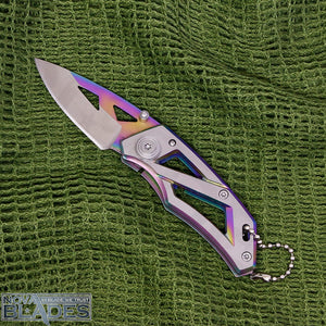 DA3 Frame lock EDC Mini Folding Knife