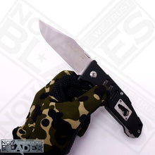 Load image into Gallery viewer, Land GB-9046 Folding Knife Steel + G10 Handle
