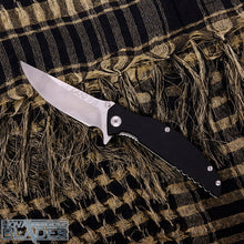 Load image into Gallery viewer, Land GB-915 Folding Knife Steel + G10 Handle