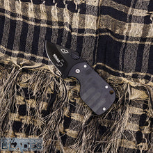 Load image into Gallery viewer, Desion SubCom 1.8inch Black Mini Folding Knife