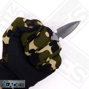 MT216 Mini Push Dàgger Knife with Sheath