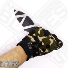 Load image into Gallery viewer, Sanjia Fixed Blade Geo-Camo Combat Parong Karambit Fighter Knife
