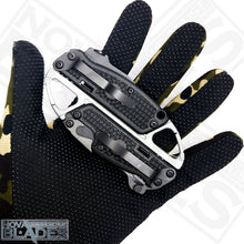 Load image into Gallery viewer, SR278 Knife, Bottle and Wine opener tool and Carabiner Multi-tool